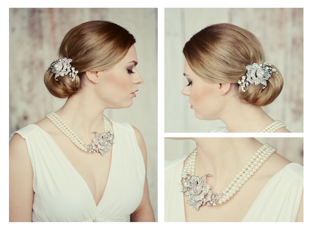 Vintage Style Bridal Jewelry Set